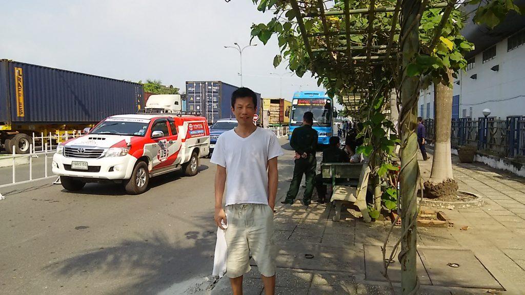 カンボジア 国境ポリス
