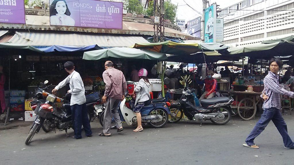 カンボジア 商店