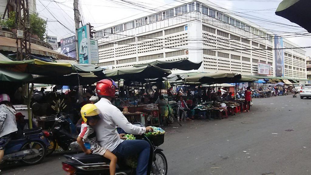 カンボジア 露店