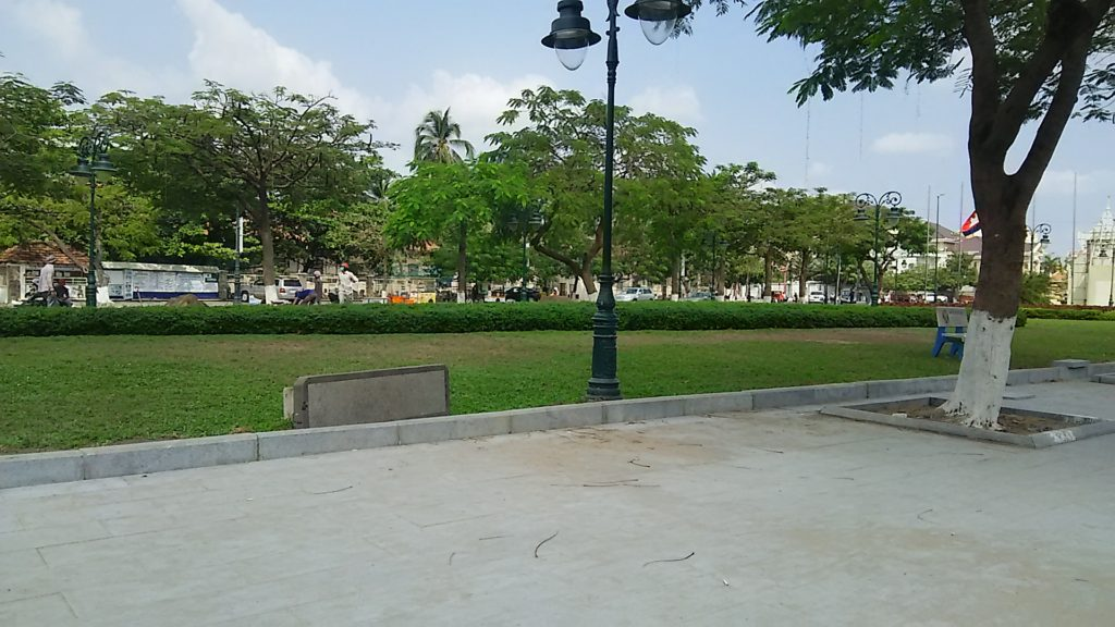 カンボジア 公園