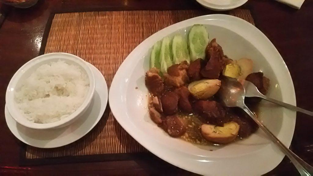 カンボジア 夜飯
