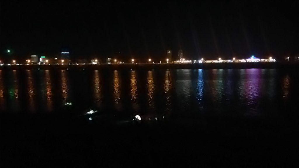 プノンペン メコン川沿い