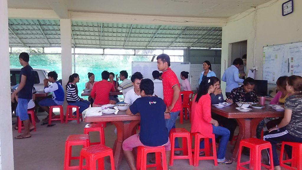 カンボジア学校 生徒