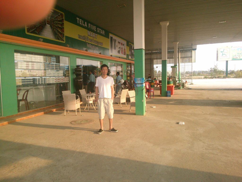 カンボジア ガソリンスタンド2