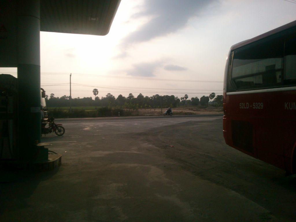 カンボジア バナナ畑