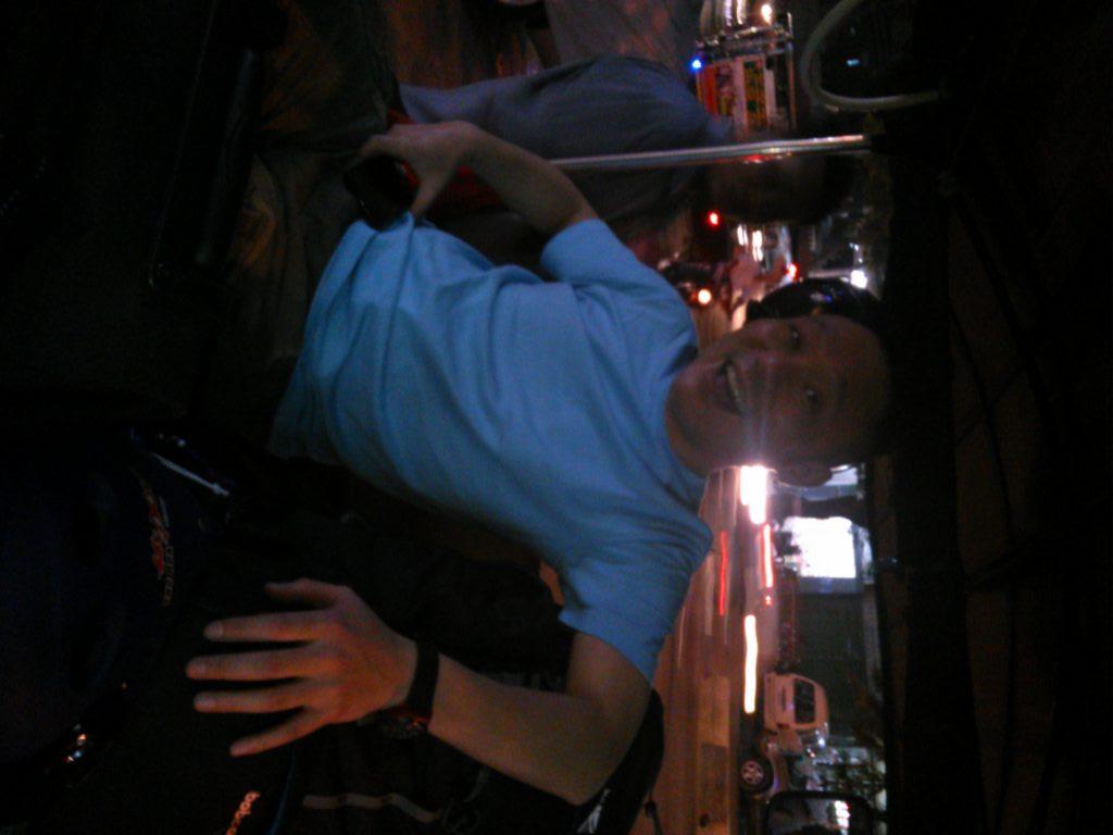 カンボジア トゥクトゥク車内