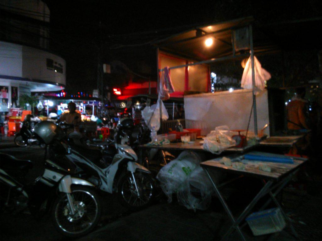 カンボジア 屋台