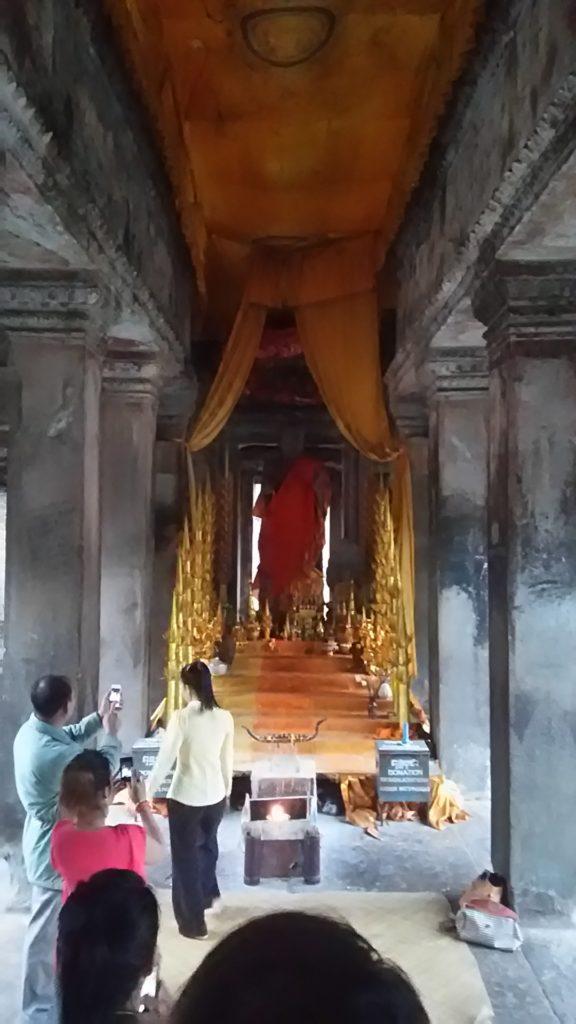 アンコールワット 仏像