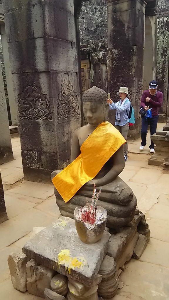 バイヨン寺院 仏像