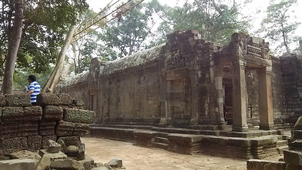 タ・プローム寺院 遺跡