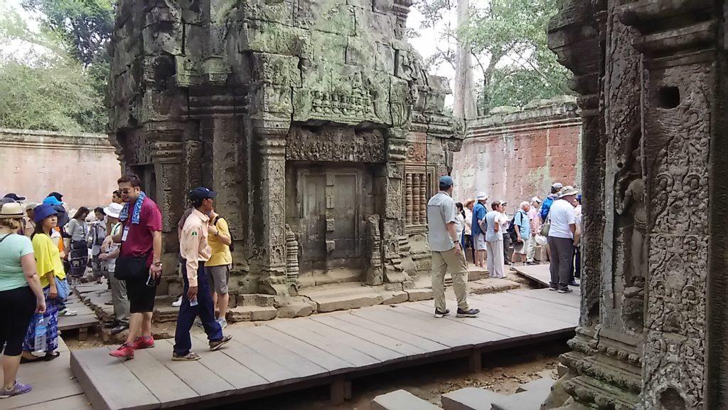 タ・プローム寺院 遺跡3