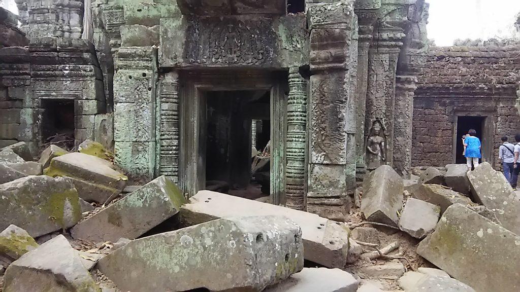 タ・プローム寺院 遺跡4