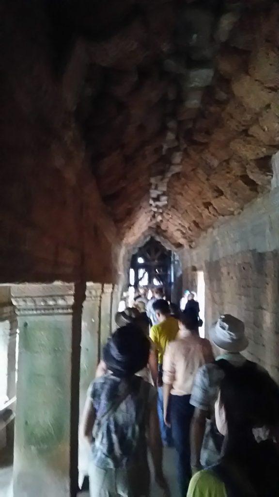 タ・プローム寺院 遺跡回廊