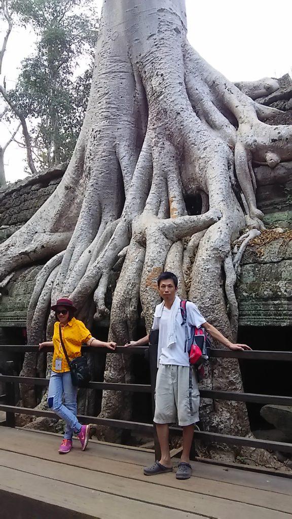 タ・プローム寺院 遺跡6