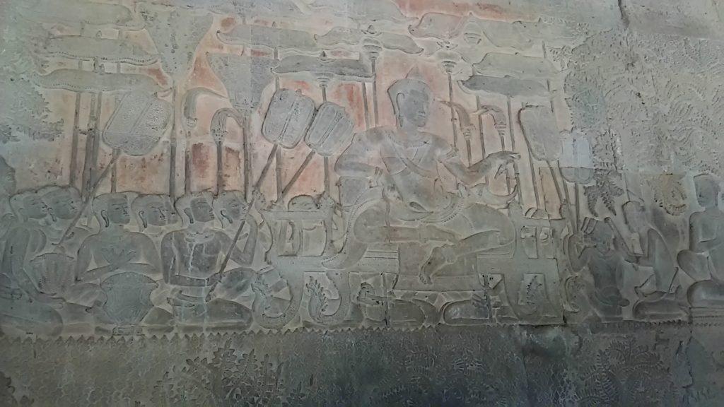アンコールワット 壁画