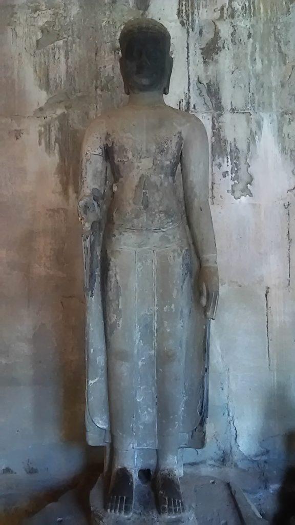 アンコールワット 石像