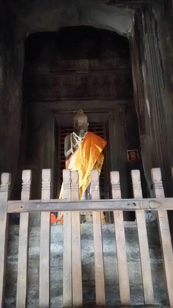 アンコールワット 中央祠堂 仏像