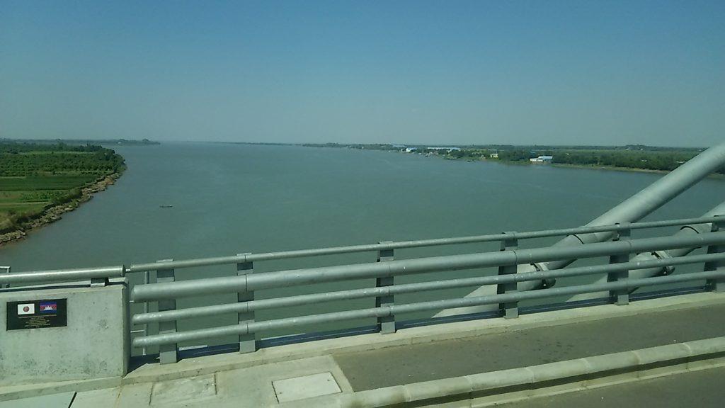 メコン川 橋