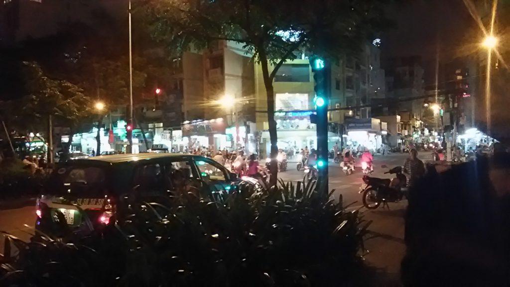 ベトナム サイゴン街