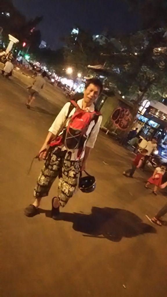 ベトナム サイゴン路地