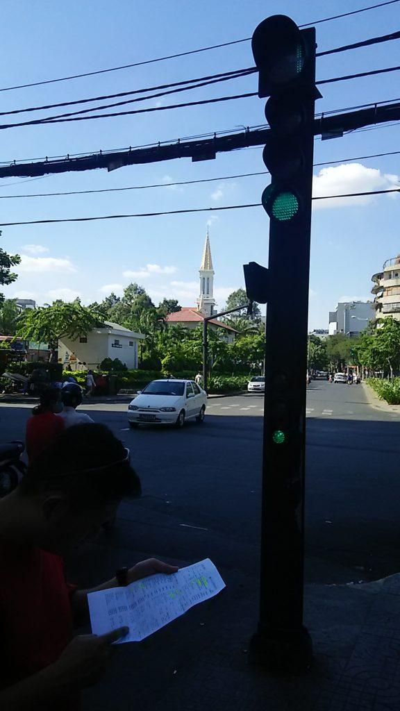 ホーチミン 街路