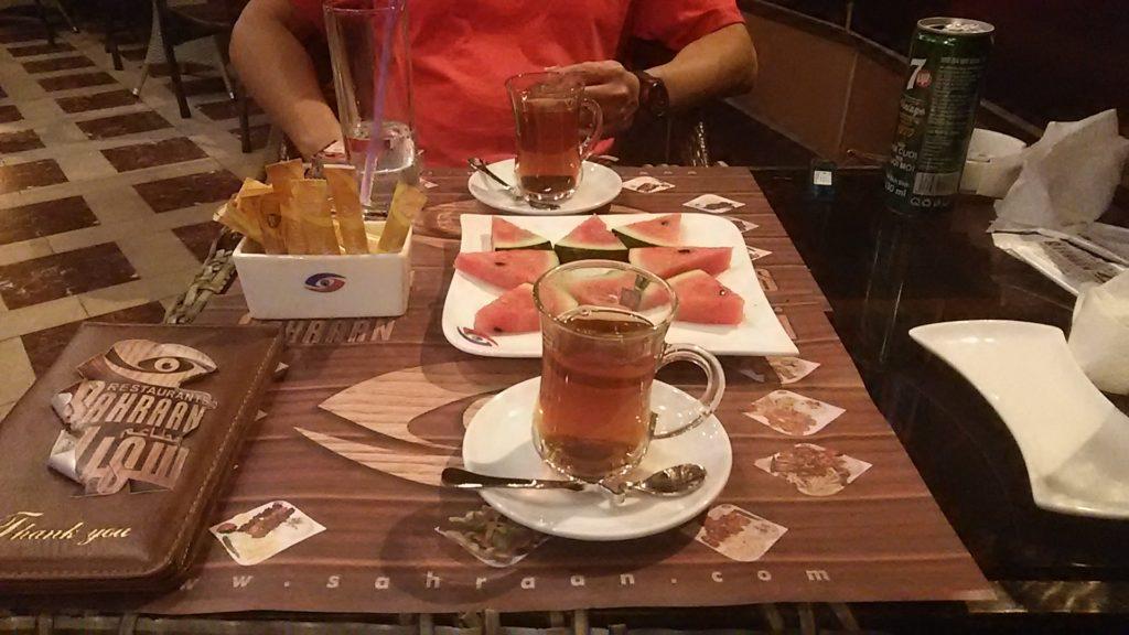 ホーチミン エジプトお茶