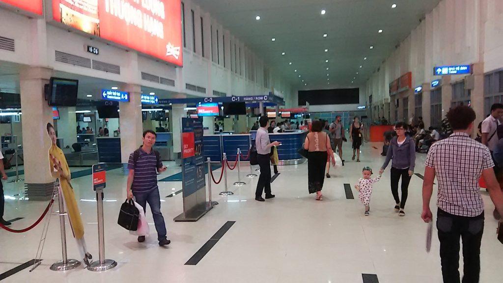 ホーチミン 空港