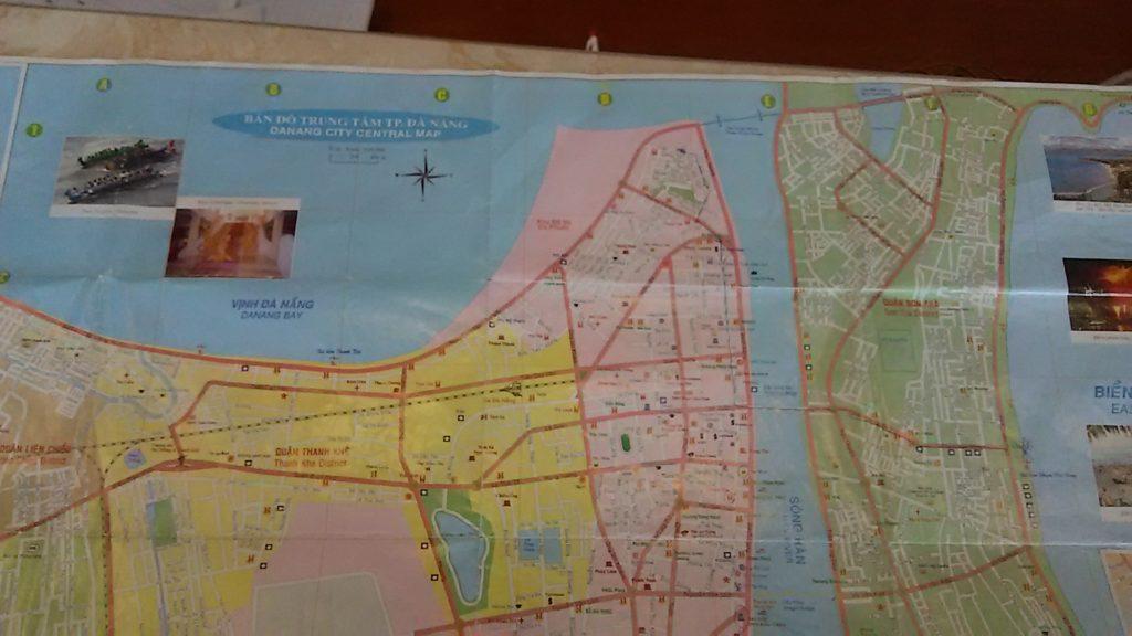 ダナン 地図