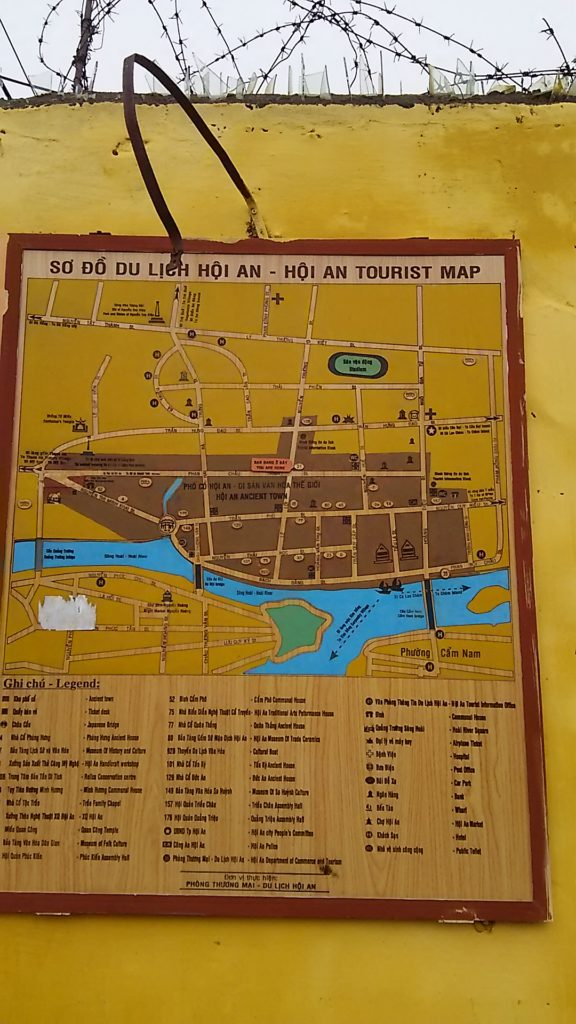 ホイアン 地図