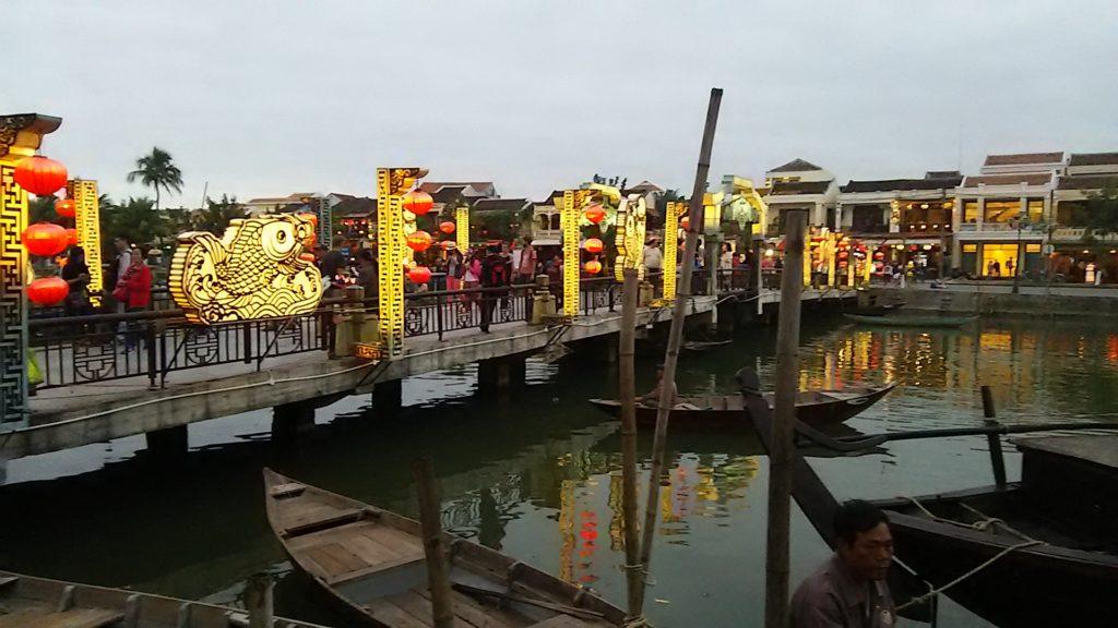 ホイアンの夜 アンホイ橋