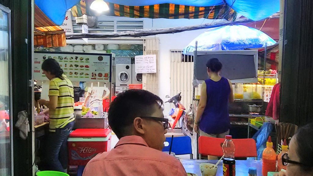 サイゴン路地