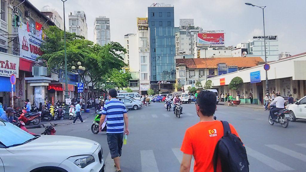 サイゴン街並み