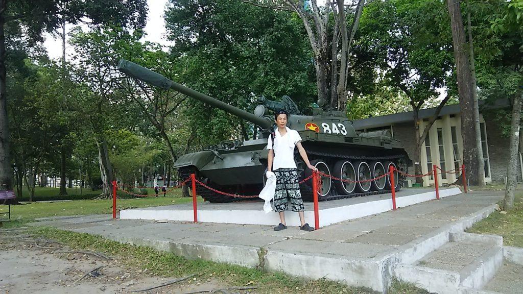 統一会堂T54戦車