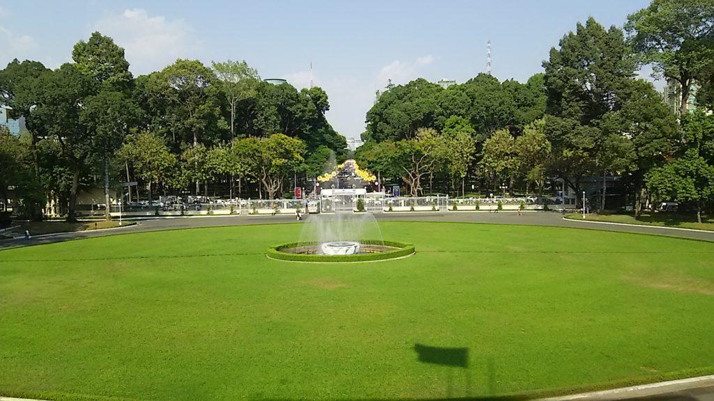 統一会堂庭園