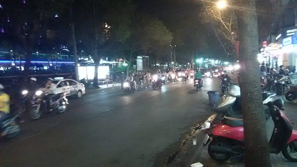 サイゴン夜の街