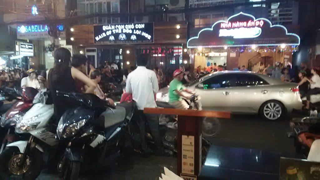 サイゴン繁華街
